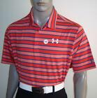 Men's Under Armour Tour Logo Kinetic Stripe Golf Polo $75