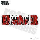 Engineer Decal Canada Canadian Flag Scientist Hard Hat Gloss Sticker HVG