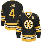 Boston Bruins BOBBY ORR Youth Jersey L XL NWT NEW Black Reebok Heroes of Hockey
