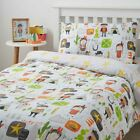 Cowboys & Indians Kids Duvet Cover Modern Cartoon Childrens Bedding Single Size