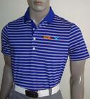 (HR) Ralph Lauren RLX Tour Logo Active-Fit Striped Jersey Polo (Royal) $90