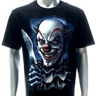 r223 Rock Eagle T-shirt Tattoo GLOW in DARK Skull Ghost Joker Psycho Killer Hero
