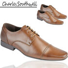 Charles Southwell Mens Formal Office Work Party Wedding  Official Brogue Shoes
