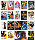 JAMES BOND 007 Pictures Classic Movie Posters /Wall Canvas Print  A1/A2/A3+ £4.99 GBP