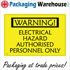 DANGER ELECTRIC SHOCK RISK SAFETY STICKER RIGID WS070 INDOOR OUTDOOR SIGN