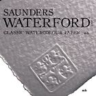 Saunders waterford watercolour paper sheets 100% cotton artists 190 300 640gsm