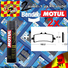 2x BENDIX 341-MF & P2 BRAKE PADS + CLEANER FITS MOTORCYCLES DETAILED IN LISTING