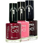 Rimmel Super Gel Nail Polish Various Shades