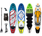Aqua Marina Inflatable SUP Stand Up Paddle Board Range inc Paddle Complete