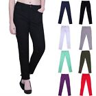 Womens Denim Skinny Stretch Jeans Sexy Mid Rise Ultra Stretch Slim Pencil Pants