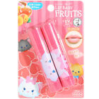 Rohto Japan Mentholatum x Disney Tsum Tsum Lip Baby Fruits Color Lip Cream Duo