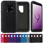 Rugged Samsung Galaxy S9 / S9 Plus Case Cover, fits Otterbox Defender Belt Clip