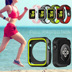 iWatch Case Cover for Apple Watch Series 3/2/1 Sport Silicone Protective 38 42mm