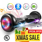 6.5 UL 2272 Bluetooth LED Light Hoverboard Self Balancing Electric Scooter