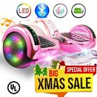 6.5 UL 2272 Bluetooth LED Light Hoverboard Self Balancing Electric Scooter <br/> Color of your choice! Buy now from a Trusted US Seller!