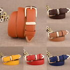 New Women Brief PU Leather Fashion Designer Belts Buckle Belt Clothes Accessorie