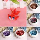 100pcs  Evil Eye DIY Charm Round Beads 8mm For Jewelry Bracelet Making Fashion