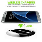 Fast V1W Qi Wireless Charger Cell Phone Smartphone Charging Pad Mat Dock Adapter