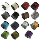 Suede Cord with Imitation Leather, Faux Suede, String, Thong 3mm x 1.5mm