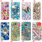 Custom-made Jewelled Bling Crystal Diamonds Soft Phone back Case Cover Skin #a17