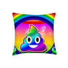 Personalized 1pcs Poop Emoji Printed Pillowcase Sofa Cushion Case without Pillow