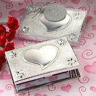 40-120  Heart Design Mirror Compact - Wedding Party Favors