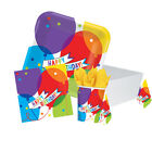 BRILLIANT BALLOON Birthday Party Tableware, Banners, Balloons & Decorations (AM)