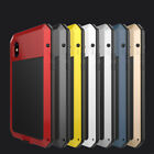 Metal Shockproof Waterproof Armor Case Cover For iphone X 8 7 6 6S Plus S9 S8 S7