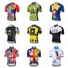 WEIMOSTAR Cycling Jersey Bike Team Men Tops Shirt Short Sleeve Bicycle Clothes