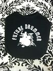 FUTURE DRUMMER COOL ROCK AND ROLL BIB DRUMS NEW  BABY BIB COLOR CHOICE NEW