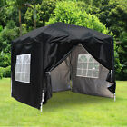 2x2M 2.5x2.5M 3x3M Garden Pop Up Gazebo Party Marquee Tent with 4 Leg Weights