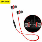 Awei A980bl Bluetooth Earphones Headset Wireless Headphones With Microphone