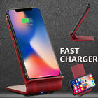 Qi Genuine Wireless Fast Charger Convertible Pad For Samsung Galaxy S9+/Note 8