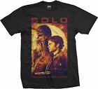 HAN SOLO A STAR WARS STORY Han Solo & Chewbacca Profile T-SHIRT OFFICIAL MERCH
