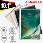 AU 4G 10.1'' 4G+64GB Android 7.0 Tablet PC Octa 8 Core HD WIFI Bluetooth 2 SIM