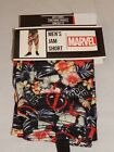 DEADPOOL movie Unicorn Lounge Jam Shorts Comic Book Men's 28 30 36 38 40 42 NEW