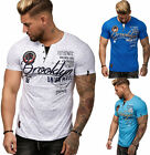 Herren T-Shirt Top Shirt Clubwear Brooklyn Kragen Polo M L XL XXL NEU