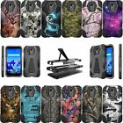 For LG Stylo 3 | Stylo 3 PLUS LS777 Shockproof Dual Layer Bumper Cover - Camo