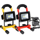 10W Cordless Work Light Spotlight Rechargeable LED Flood Camping Outdor Lamp