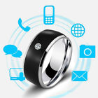 NFC Smart Crystal Finger Ring Multifunctional Waterproof Intelligent Charm Ring&