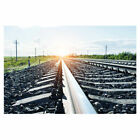 Railway Pattern Photography Background Vedio Photo Shooting Props Backdrop Vinyl