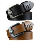 waist belts fashion - Fashion Classic Mens Faux Leather Waist Belt Casual Waistband Metal Buckle Belts