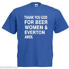Beer Women Everton Adults Mens T Shirt
