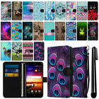 For ZTE Blade X Z965 Ultra Slim Wallet Pouch Phone Case Cover + Pen