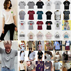 trendy plus size t shirts - Womens Loose Summer Short Sleeve Tops Shirts Casual T-Shirt Blouse Tee Plus Size