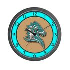 CafePress - Turquoise Horse - Unique Decorative 10 Wall Clock