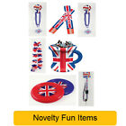 Great Britain UNION JACK Royal Wedding Party - Novelty Fun Items Decorations