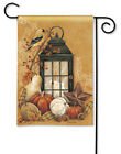 BreezeArt Breeze Art AUTUMN LANTERN Garden Mini Flag 12.5 x 18