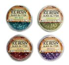 ICE resin glass glitter - striking colors - resin jewelry making scrapbooking