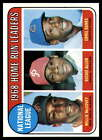 1969 Topps Baseball # 1-161- Pick Your Card - All Cards Scanned Front and Back